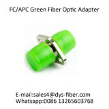 Adaptateur vert de fibre optique de FC/APC