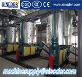 Refinería de petróleo vegetal comestible completa de calidad superior de la fuente de China