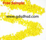 プラスチック建築材料のための10%の顔料の黄色Masterbatch