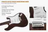 工場価格OEM ODMのZebrawoodの開始様式のエレキギター