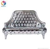 Spätestes Entwurf Seater Sofa Doppeltes/drei mit dem Diamant-heißen Verkauf