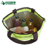 Die meiste preiswertes Schulter-Strand-Kühlvorrichtung-Beutel-Polyester IsolierEinkaufstasche