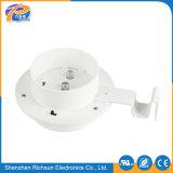 Éclairage LED IP65 solaire blanc chaud en plastique pour la frontière de sécurité