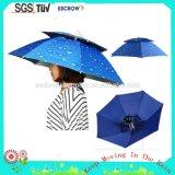 Kundenspezifischer Kind-Hut-Regenschirm des Firmenzeichen-16inch 8K