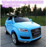 El coche teledirigido de los juguetes de los niños embroma el coche eléctrico del juguete para conducir