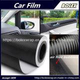 Os adesivos do carro de decoração em fibra de carbono em 3D em fibra de carbono de vinilo monómero de Finalização