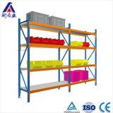 Preço de fábrica média longa Unidade estantes ajustável