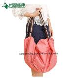Le polyester de fini de la Chine personnalisent le sac pliable de but multi de grande capacité