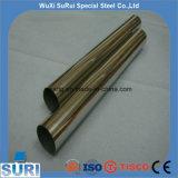 ASTM 201 202 304 316L 310S 2205 ERW soldó el tubo de acero inoxidable grabado destemplado Polished para la decoración industrial