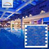 Mozaïek van het Glas van de Tegels van het Zwembad van het kobalt het Blauwe