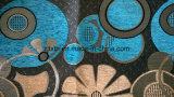 Chenille lucido del jacquard del poliestere del filato d'argento (fth31888)