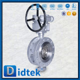 Проверка 100% Didtek Wcb двухстворчатый клапан с Chainwheels