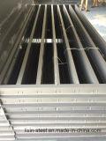 Aluminiumvergitterung als externe Wand-Dekoration-materielles Stahlgebäude
