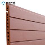 panneau décoratif rouge de mur rideau de 18mm pour la construction