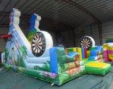 Campo de jogos inflável gigante do divertimento do PVC Funcity da alta qualidade 0.55mm para a venda