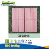 Высокое качество блокируя плитки крытого пола плитки WPC DIY палубы деревянные пластичные составные