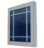 熱く新しい鉄の窓の格子デザイン中国製