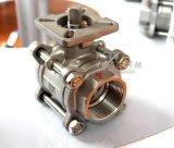 Stainless Steel Female Thread High Platform 3PC ball valve