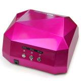 O secador UV o mais novo do diamante do prego da lâmpada 18With36W