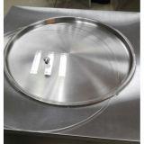 Máquina frita cacerola redonda grande del helado del rodillo de la capacidad dos