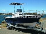 販売(SW580)のためのLiya 5.8mのガラス繊維の漁船