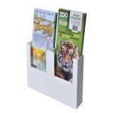 Fixer l'étagère de livre acrylique fixée au mur d'enfants