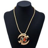 三落着きのなさ手の紡績工指の焦点のおもちゃの指先のジャイロコンパスの宝石用原石の吊り下げ式のネックレスの宝石類