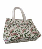 Sacs de sac à main d'emballage de la beauté des femmes d'édition d'été d'unité centrale de configuration de fleur