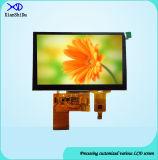 Étalage de TFT LCD de 5 pouces avec le panneau de contact capacitif