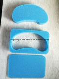 Espuma azul de la guarnición del conjunto para el regalo