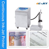 Impresora de inyección de tinta de la codificación de la fecha de Cij del rectángulo de papel de la leche (EC-JET920)