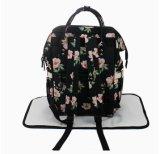 Китай моды печатных цветов пеленок Diaper малыша мама рюкзак сумка