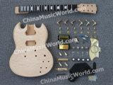 Набор электрической гитары типа DIY Sg Pango (PSG-928K)