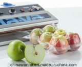 Dz400 escogen la empaquetadora práctica del vacío del compartimiento para el hogar del alimento