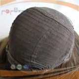 Topo de seda Sheitel Kosher Judia Peruca (PPG-L-0243)