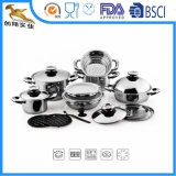 Cookware нержавеющей стали 403 установил 23 PCS (BlS-1624)
