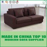 Sofá casero clásico moderno de los muebles de la sala de estar de la tela