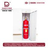 Sistema de supresión automático de fuego del extintor de gas de la cabina 90L FM200
