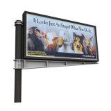 Publicité de plein air double côté de la fabrication de panneaux avec LED couleur Panneau Structure en acier