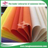 De PP Nonwoven Fabric em rolos para sacos de compras/sacos de vestuário