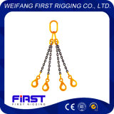 4本の足の合金鋼鉄高品質の溶接されたチェーン吊り鎖