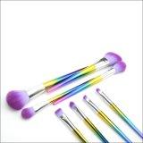8pcs de Marca privada profesional pincel de maquillaje de cambio de color Set