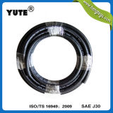 "Yute 5/16 ""Black Corrugated Engine Parts Mangueira FKM Fuel Gasoline"