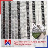 A poupança de energia 25%~70% Clima de alumínio Interno Sombra Pano para o controle de temperatura