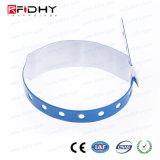 使い捨て可能な防水PVC RFIDリスト・ストラップ