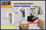 Square bloque inferior la parte inferior de la bolsa de papel máquina fabricada en Hongying