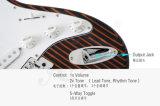 Гитара типа старта Zebrawood ODM OEM цены по прейскуранту завода-изготовителя электрическая