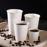 Personalizadas de papel desechables de café caliente de la copa con tapa