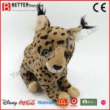 En71 승진 선물 박제 동물 아이들을%s 연약한 살쾡이 견면 벨벳 장난감