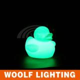 LED 오리 테이블 램프 LED 가구 빛